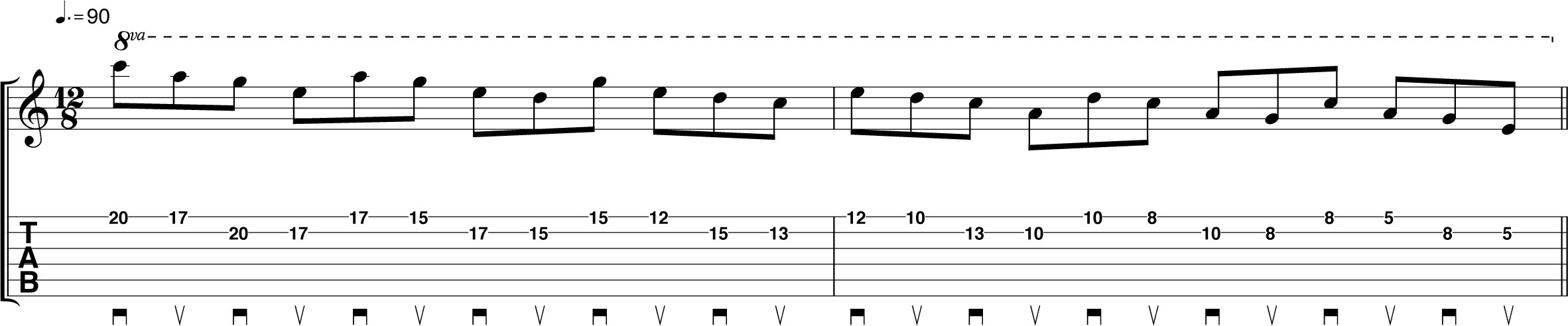 Guitar chords cdefgab image collections guitar chords examples 30 day guitar challenge day 24 an alternate picking masterclass blues lick fatherlandz image collections hexwebz Gallery