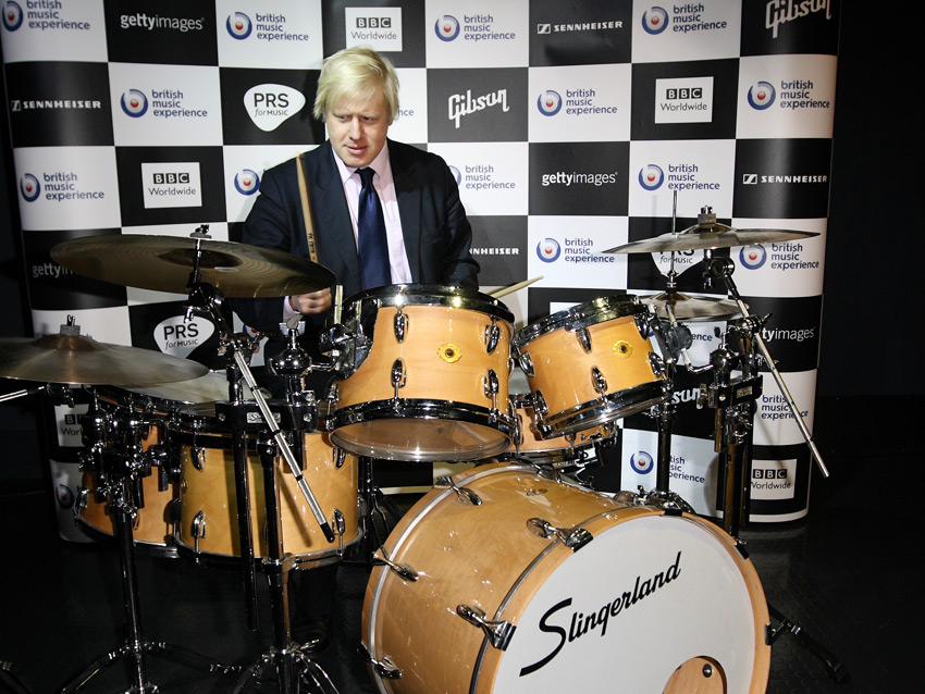 Boris Bangs the Drums